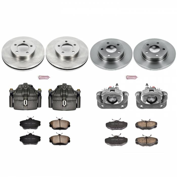 Power Stop - Autospecialty By Power Stop 1-Click OE Replacement Brake Kit w/Calipers | Power Stop (KCOE5447)