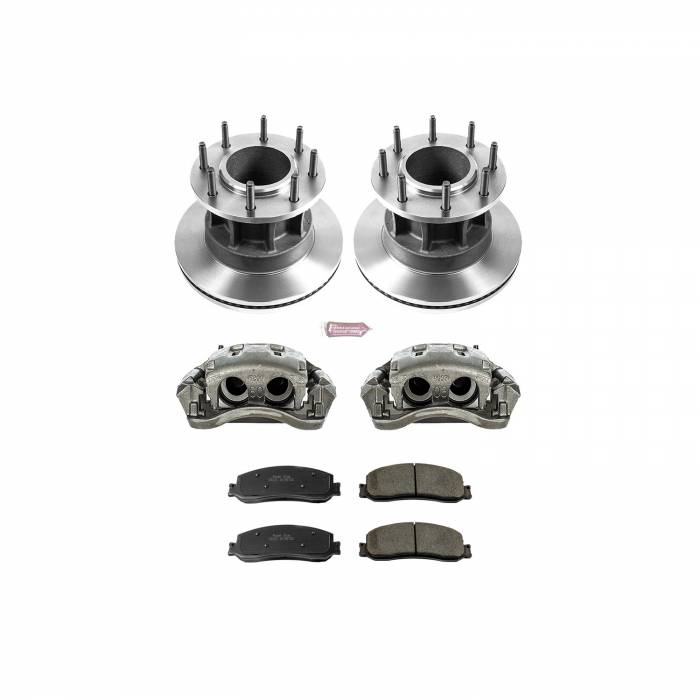 Power Stop - Autospecialty By Power Stop 1-Click OE Replacement Brake Kit w/Calipers   Power Stop (KCOE6526)