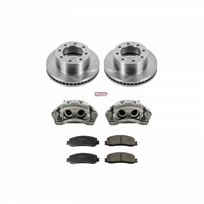Power Stop - Autospecialty By Power Stop 1-Click OE Replacement Brake Kit w/Calipers | Power Stop (KCOE6545A)