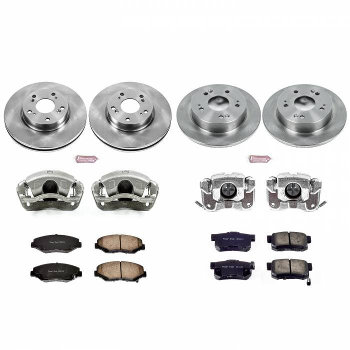 Power Stop - Autospecialty By Power Stop 1-Click OE Replacement Brake Kit w/Calipers | Power Stop (KCOE6942)