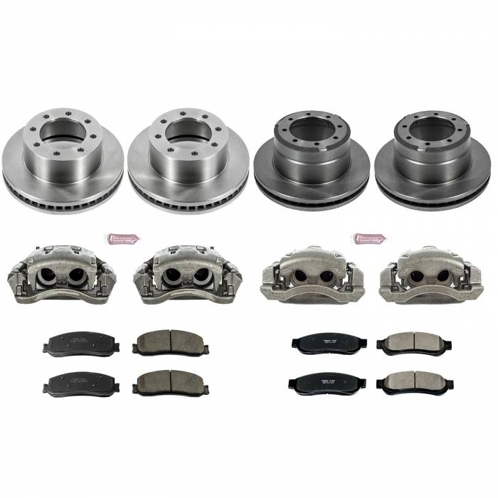 Power Stop - Autospecialty By Power Stop 1-Click OE Replacement Brake Kit w/Calipers   Power Stop (KCOE6546)