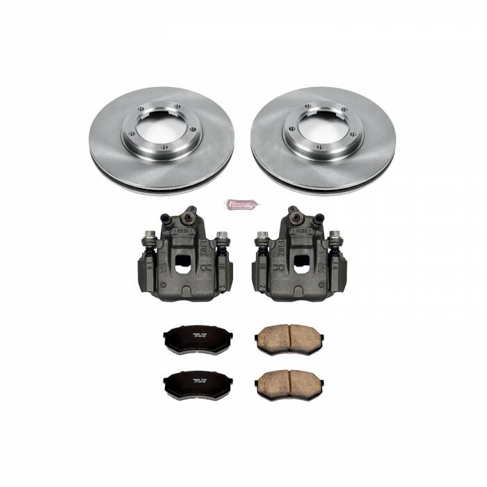 Power Stop - Autospecialty By Power Stop 1-Click OE Replacement Brake Kit w/Calipers | Power Stop (KCOE1232)