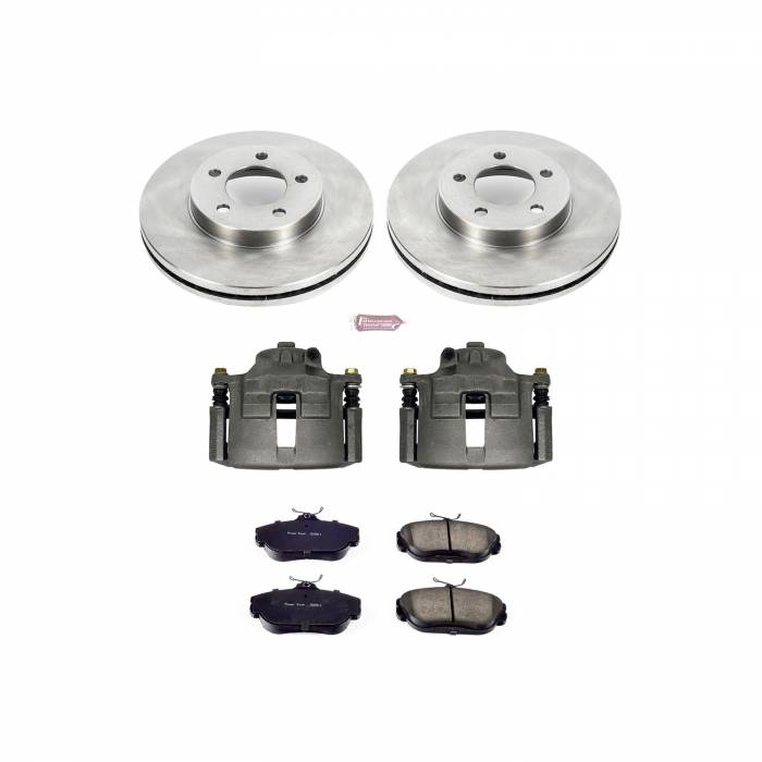 Power Stop - Autospecialty By Power Stop 1-Click OE Replacement Brake Kit w/Calipers | Power Stop (KCOE1327B)