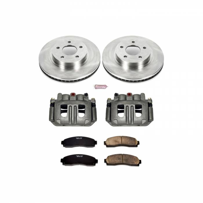 Power Stop - Autospecialty By Power Stop 1-Click OE Replacement Brake Kit w/Calipers | Power Stop (KCOE1576A)