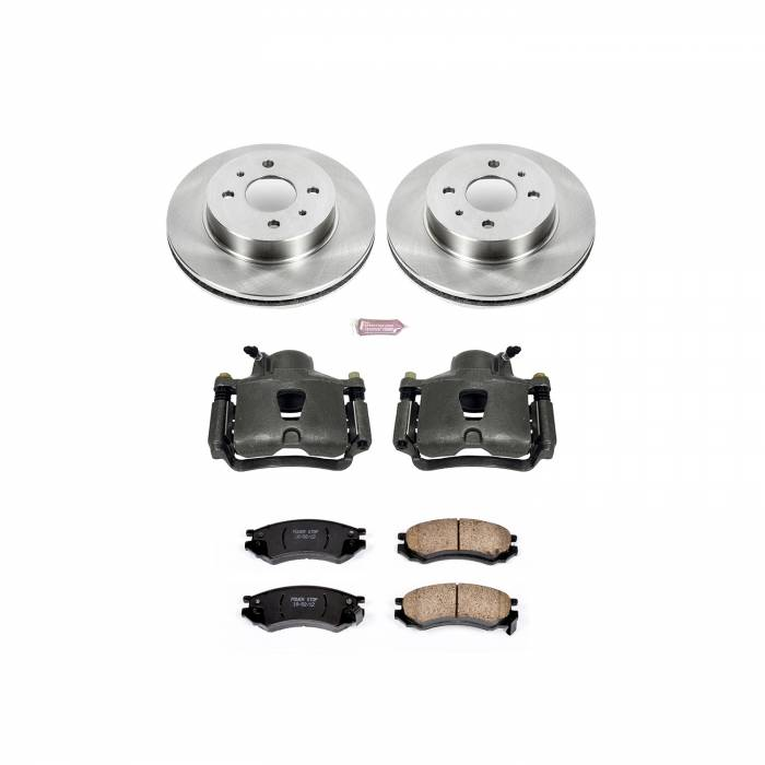 Power Stop - Autospecialty By Power Stop 1-Click OE Replacement Brake Kit w/Calipers | Power Stop (KCOE1515)