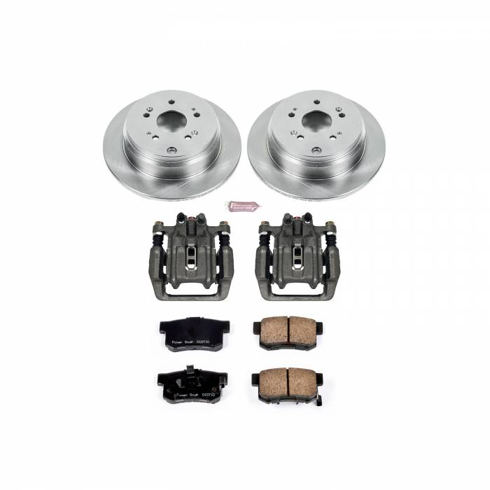 Power Stop - Autospecialty By Power Stop 1-Click OE Replacement Brake Kit w/Calipers   Power Stop (KCOE206B)