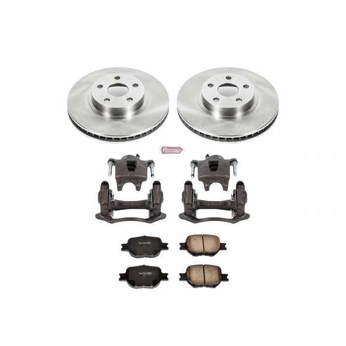 Power Stop - Autospecialty By Power Stop 1-Click OE Replacement Brake Kit w/Calipers | Power Stop (KCOE2313A)
