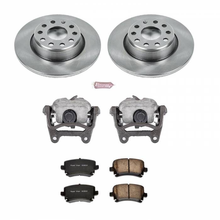Power Stop - Autospecialty By Power Stop 1-Click OE Replacement Brake Kit w/Calipers | Power Stop (KCOE2261B)
