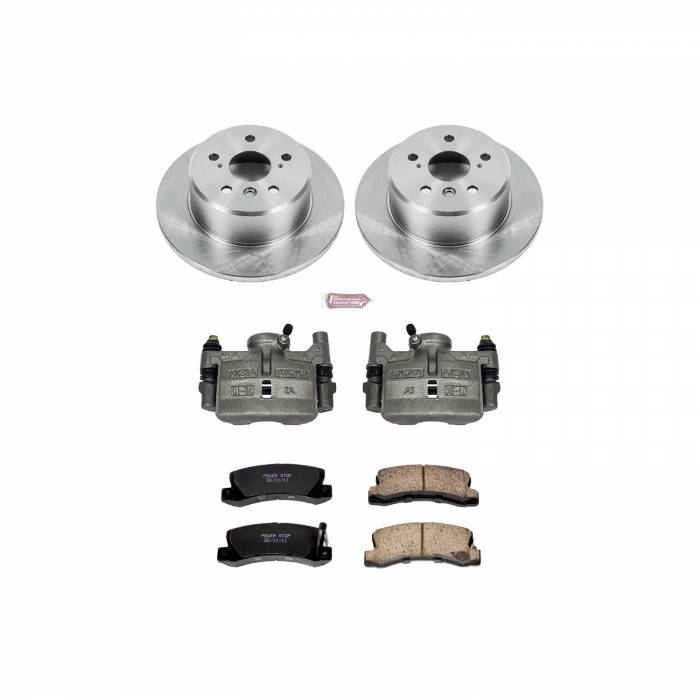 Power Stop - Autospecialty By Power Stop 1-Click OE Replacement Brake Kit w/Calipers | Power Stop (KCOE2564)