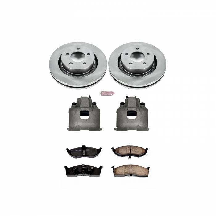 Power Stop - Autospecialty By Power Stop 1-Click OE Replacement Brake Kit w/Calipers | Power Stop (KCOE1700)