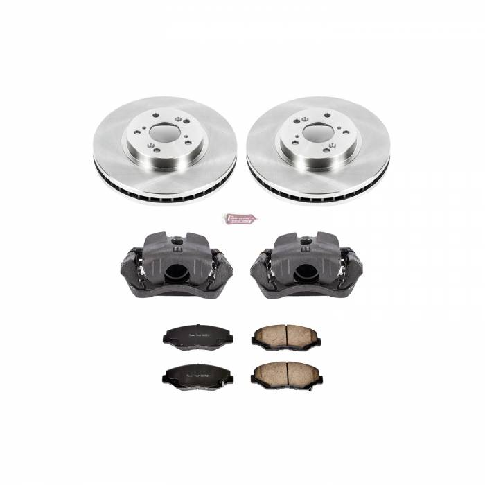 Power Stop - Autospecialty By Power Stop 1-Click OE Replacement Brake Kit w/Calipers | Power Stop (KCOE2302)