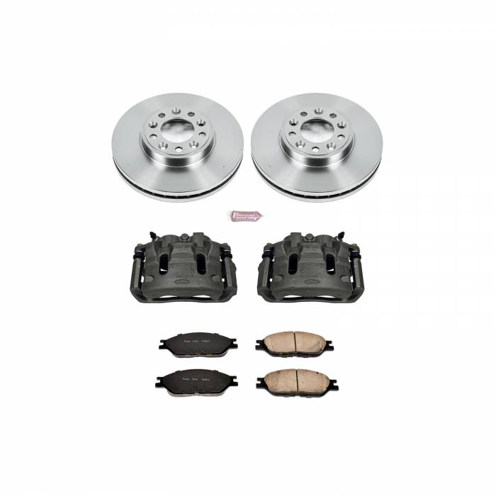 Power Stop - Autospecialty By Power Stop 1-Click OE Replacement Brake Kit w/Calipers | Power Stop (KCOE5205)