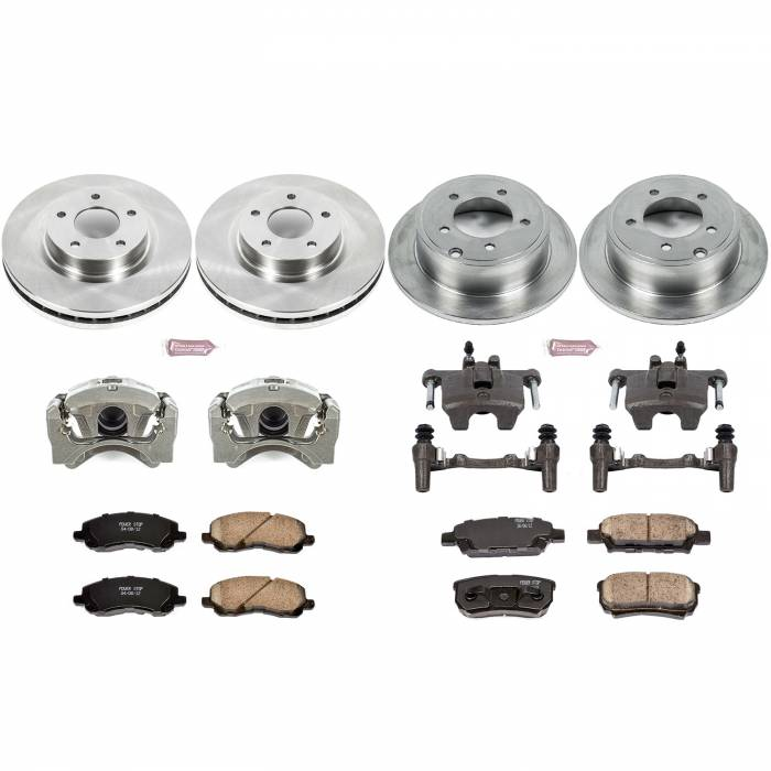 Power Stop - Autospecialty By Power Stop 1-Click OE Replacement Brake Kit w/Calipers | Power Stop (KCOE2840B)