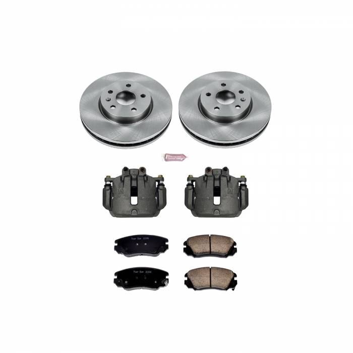 Power Stop - Autospecialty By Power Stop 1-Click OE Replacement Brake Kit w/Calipers | Power Stop (KCOE5334)