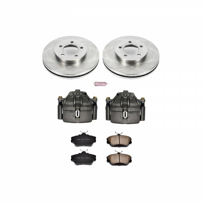 Power Stop - Autospecialty By Power Stop 1-Click OE Replacement Brake Kit w/Calipers | Power Stop (KCOE5406)