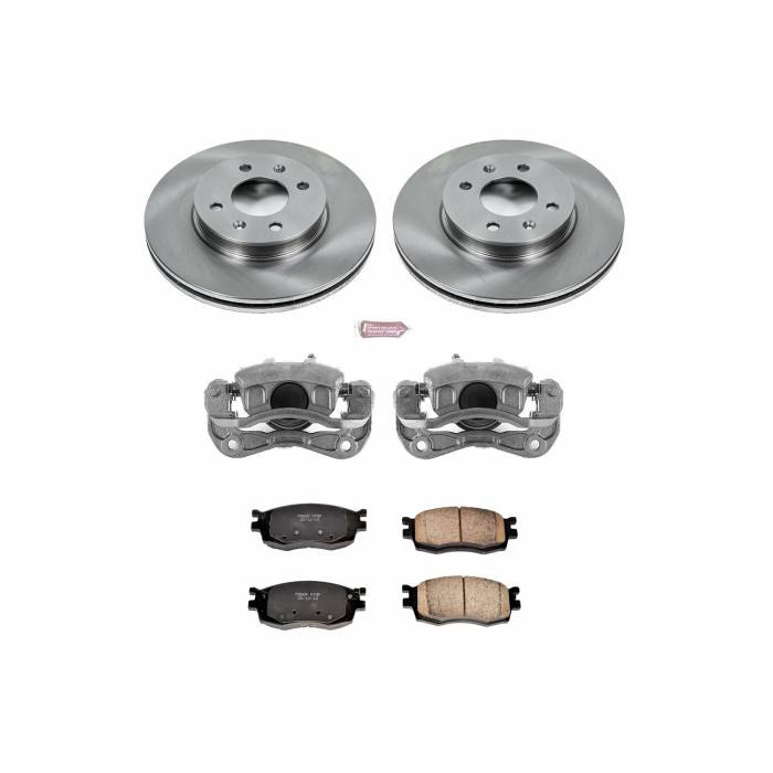 Power Stop - Autospecialty By Power Stop 1-Click OE Replacement Brake Kit w/Calipers | Power Stop (KCOE4652)