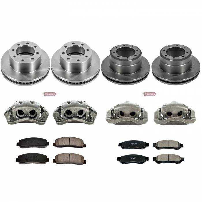 Power Stop - Autospecialty By Power Stop 1-Click OE Replacement Brake Kit w/Calipers   Power Stop (KCOE5574)
