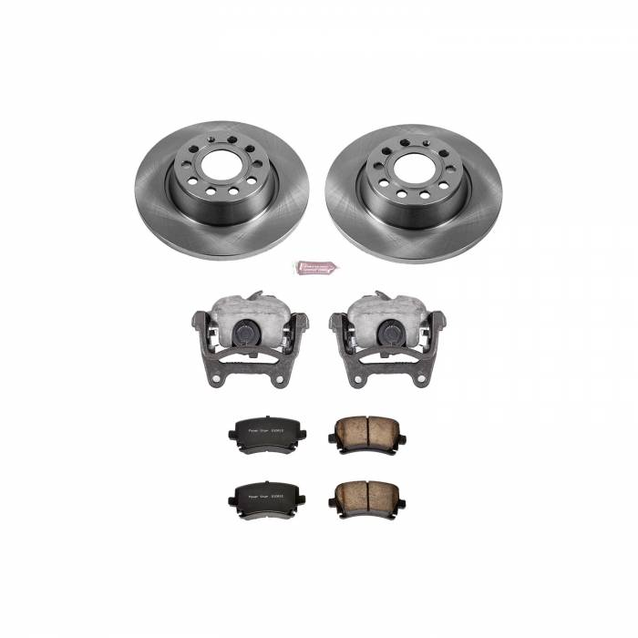 Power Stop - Autospecialty By Power Stop 1-Click OE Replacement Brake Kit w/Calipers   Power Stop (KCOE5662B)