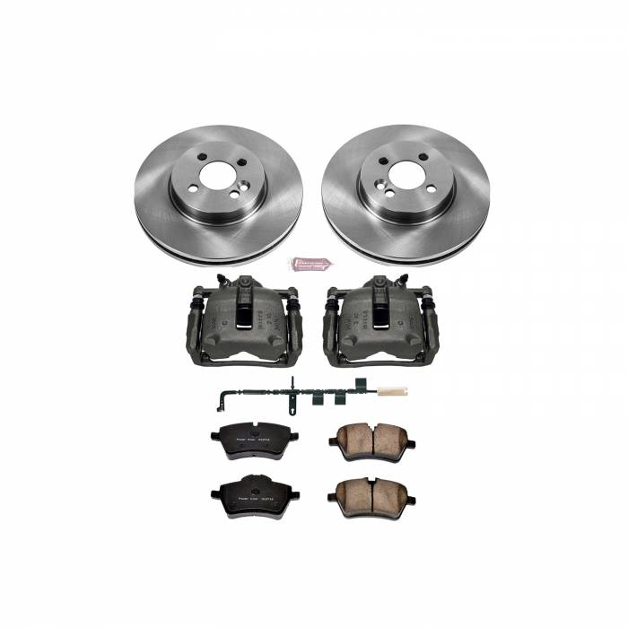 Power Stop - Autospecialty By Power Stop 1-Click OE Replacement Brake Kit w/Calipers   Power Stop (KCOE6068)