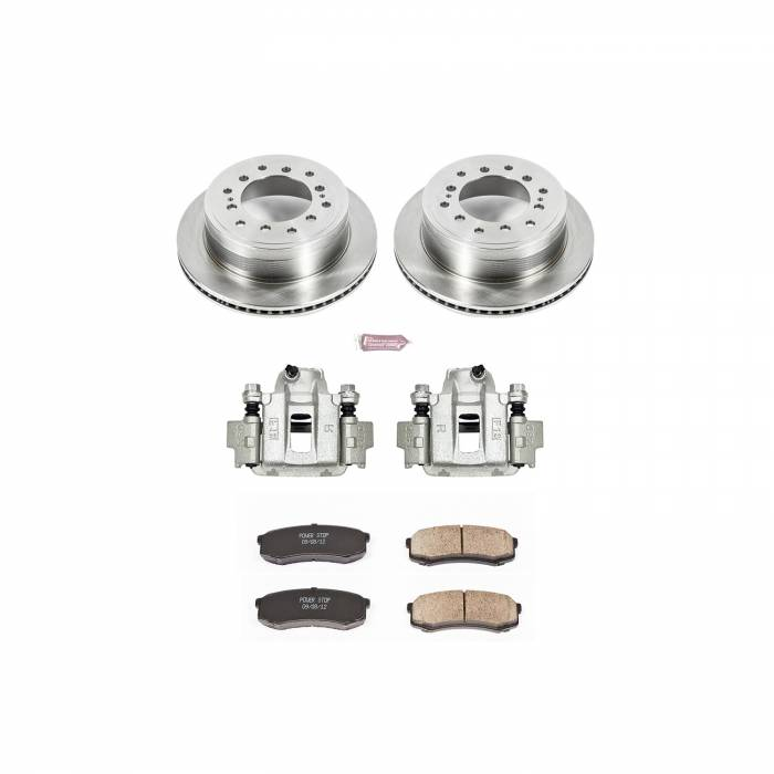 Power Stop - Autospecialty By Power Stop 1-Click OE Replacement Brake Kit w/Calipers | Power Stop (KCOE5875A)