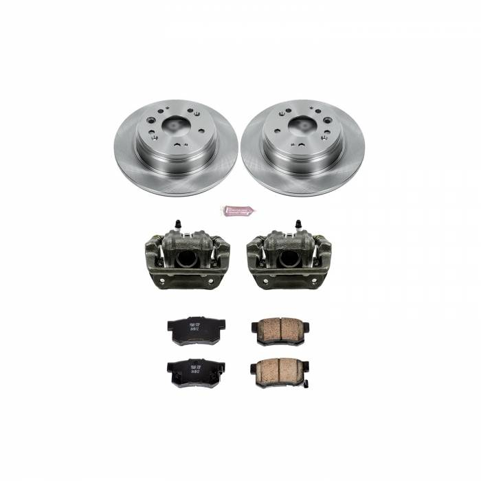 Power Stop - Autospecialty By Power Stop 1-Click OE Replacement Brake Kit w/Calipers | Power Stop (KCOE6172)