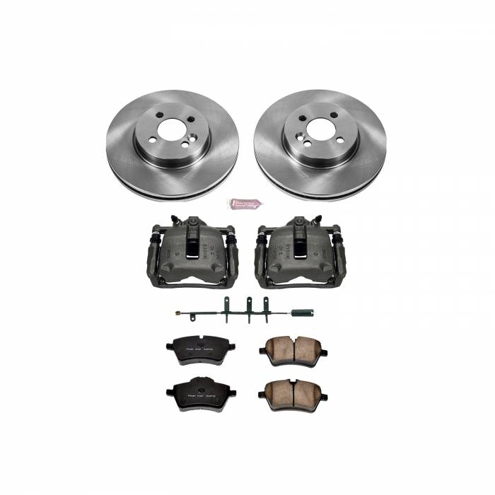 Power Stop - Autospecialty By Power Stop 1-Click OE Replacement Brake Kit w/Calipers | Power Stop (KCOE5784)