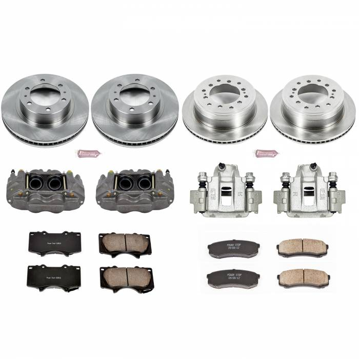 Power Stop - Autospecialty By Power Stop 1-Click OE Replacement Brake Kit w/Calipers | Power Stop (KCOE5805)