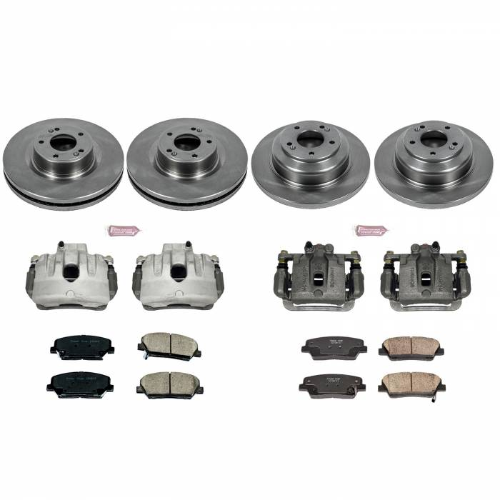 Power Stop - Autospecialty By Power Stop 1-Click OE Replacement Brake Kit w/Calipers | Power Stop (KCOE6170)