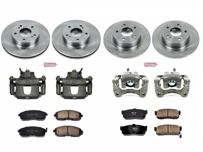 Power Stop - Autospecialty By Power Stop 1-Click OE Replacement Brake Kit w/Calipers | Power Stop (KCOE662)