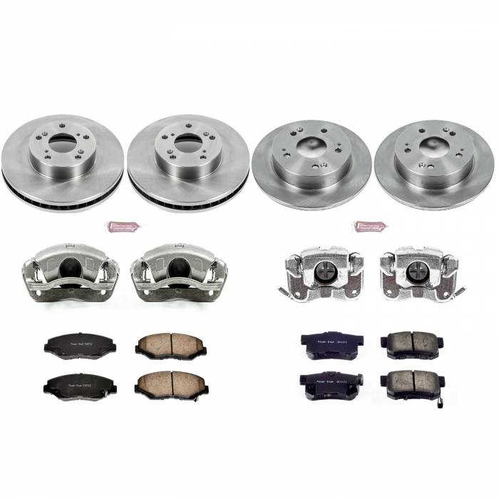 Power Stop - Autospecialty By Power Stop 1-Click OE Replacement Brake Kit w/OE Calipers | Power Stop (KCOE6781)