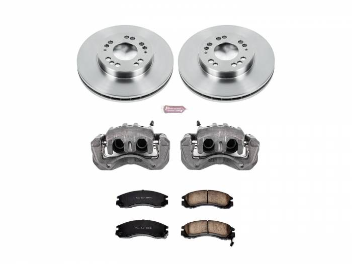 Power Stop - Autospecialty By Power Stop 1-Click OE Replacement Brake Kit w/Calipers | Power Stop (KCOE798A)