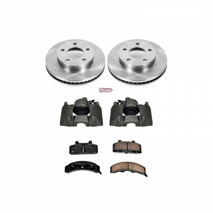 Power Stop - Autospecialty By Power Stop 1-Click OE Replacement Brake Kit w/Calipers | Power Stop (KCOE1487)
