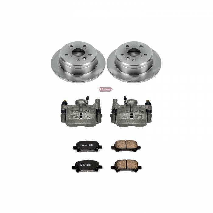 Power Stop - Autospecialty By Power Stop 1-Click OE Replacement Brake Kit w/Calipers | Power Stop (KCOE1083)