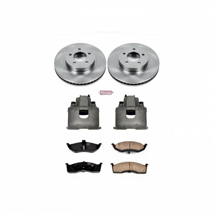 Power Stop - Autospecialty By Power Stop 1-Click OE Replacement Brake Kit w/Calipers | Power Stop (KCOE1694)