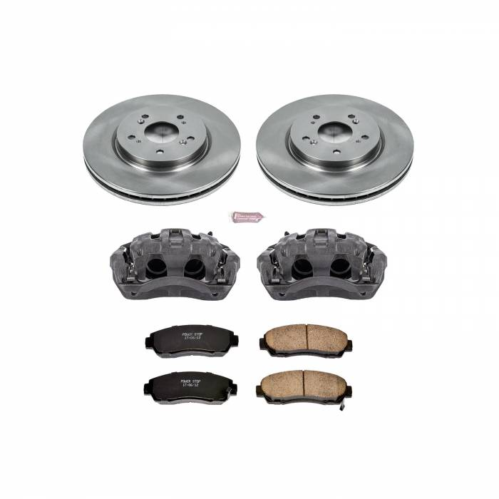 Power Stop - Autospecialty By Power Stop 1-Click OE Replacement Brake Kit w/Calipers | Power Stop (KCOE228)
