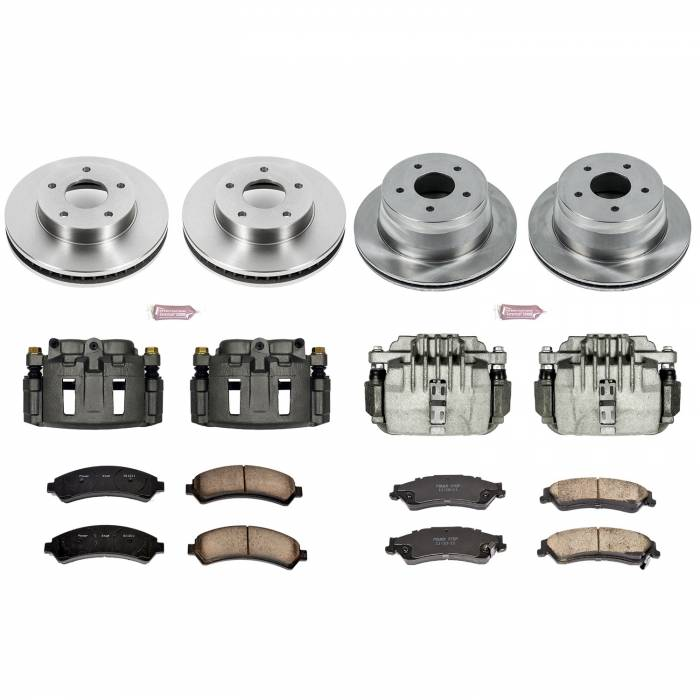 Power Stop - Autospecialty By Power Stop 1-Click OE Replacement Brake Kit w/Calipers | Power Stop (KCOE2005)