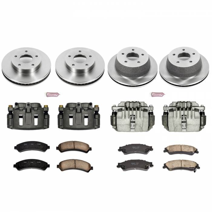 Power Stop - Autospecialty By Power Stop 1-Click OE Replacement Brake Kit w/Calipers | Power Stop (KCOE2006)