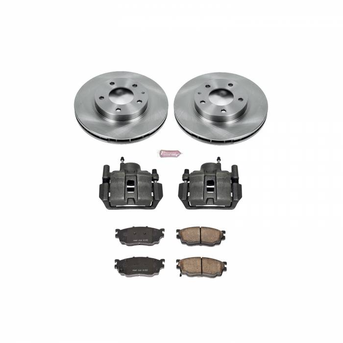 Power Stop - Autospecialty By Power Stop 1-Click OE Replacement Brake Kit w/Calipers | Power Stop (KCOE5169A)