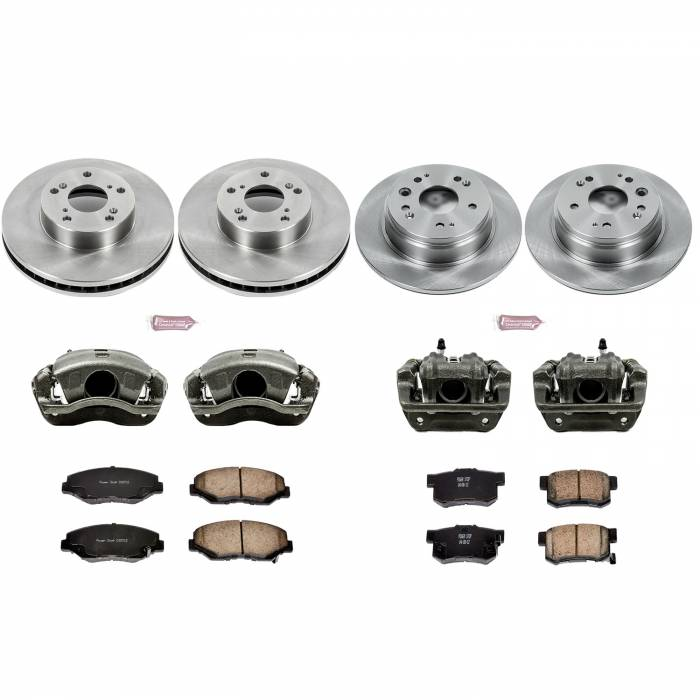 Power Stop - Autospecialty By Power Stop 1-Click OE Replacement Brake Kit w/Calipers   Power Stop (KCOE6171)