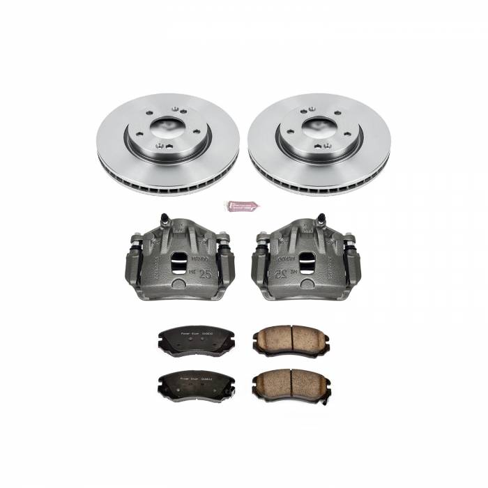 Power Stop - Autospecialty By Power Stop 1-Click OE Replacement Brake Kit w/OE Calipers | Power Stop (KCOE165C)