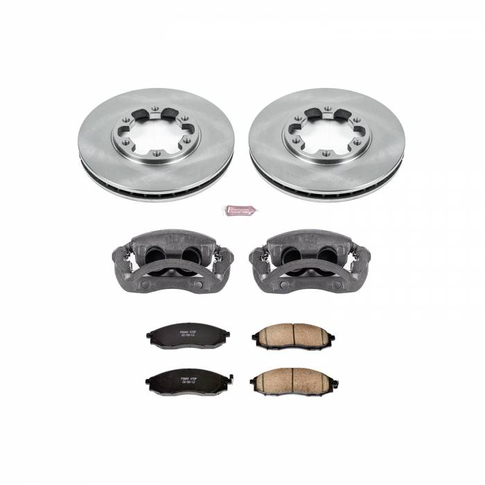 Power Stop - Autospecialty By Power Stop 1-Click OE Replacement Brake Kit w/Calipers | Power Stop (KCOE1176)