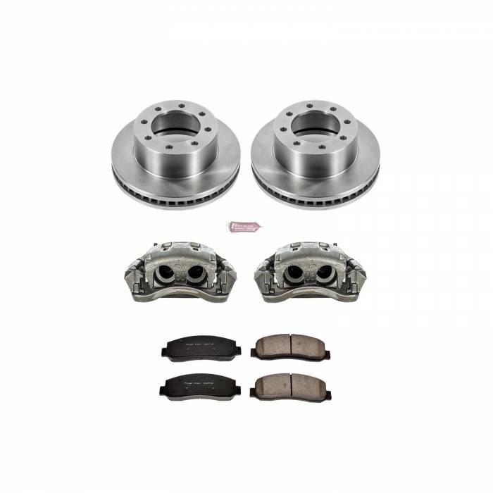 Power Stop - Autospecialty By Power Stop 1-Click OE Replacement Brake Kit w/Calipers | Power Stop (KCOE1781A)