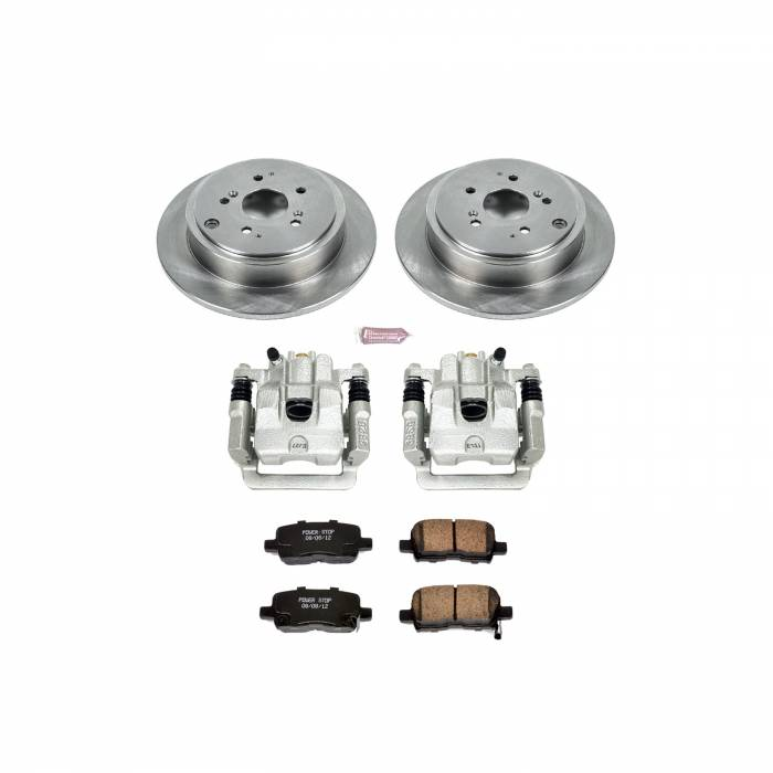 Power Stop - Autospecialty By Power Stop 1-Click OE Replacement Brake Kit w/Calipers | Power Stop (KCOE2382)
