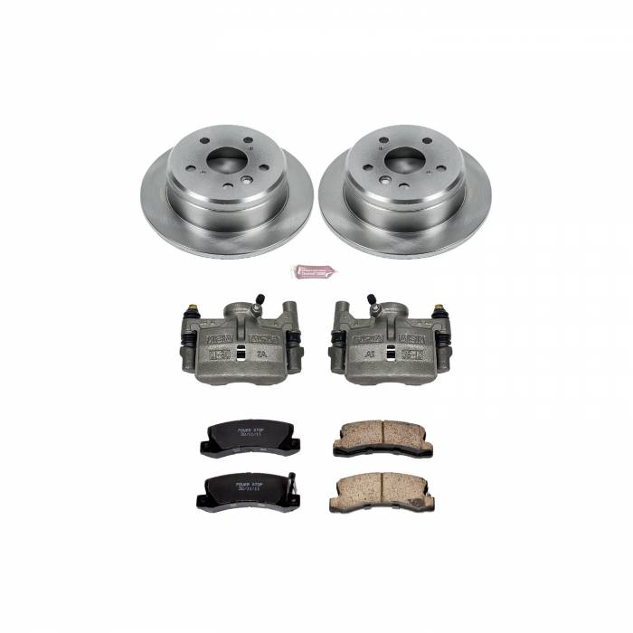 Power Stop - Autospecialty By Power Stop 1-Click OE Replacement Brake Kit w/Calipers   Power Stop (KCOE2565)