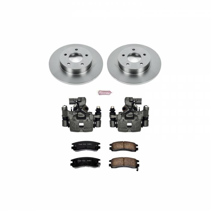 Power Stop - Autospecialty By Power Stop 1-Click OE Replacement Brake Kit w/Calipers | Power Stop (KCOE3115)