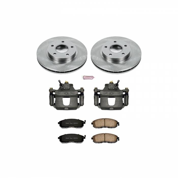 Power Stop - Autospecialty By Power Stop 1-Click OE Replacement Brake Kit w/Calipers | Power Stop (KCOE3137A)