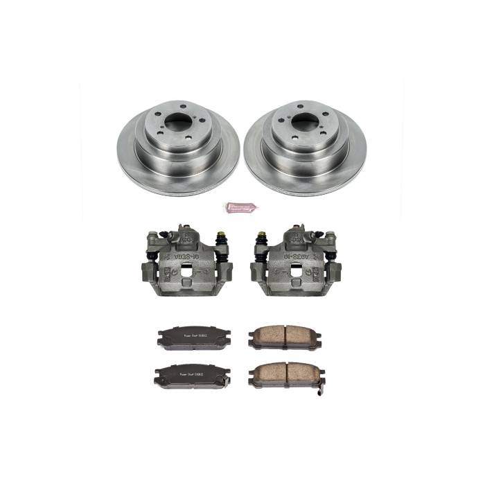 Power Stop - Autospecialty By Power Stop 1-Click OE Replacement Brake Kit w/Calipers | Power Stop (KCOE448)