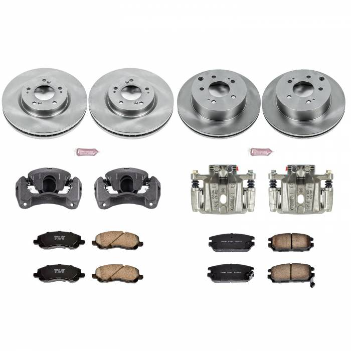 Power Stop - Autospecialty By Power Stop 1-Click OE Replacement Brake Kit w/Calipers | Power Stop (KCOE2809)