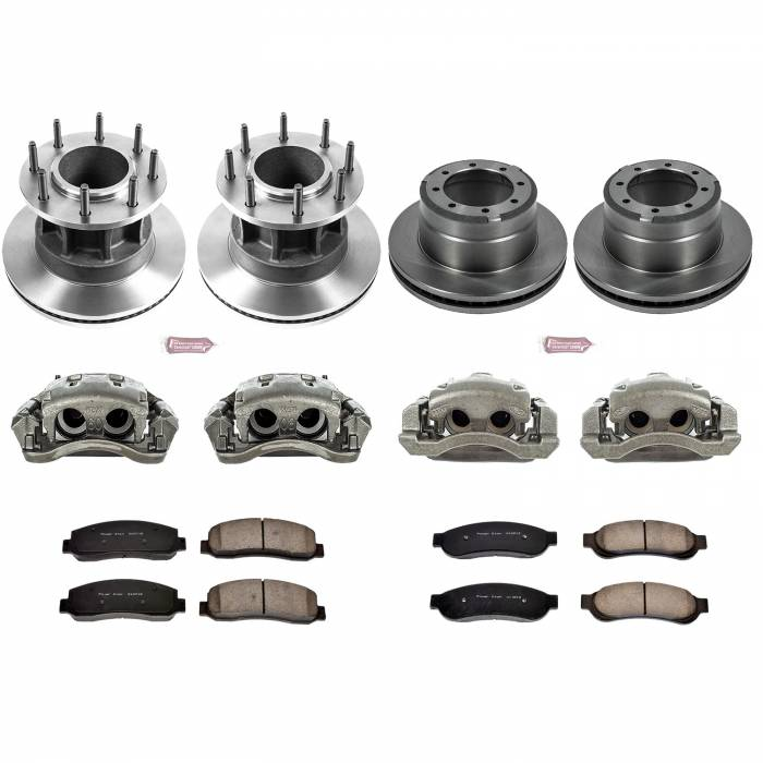 Power Stop - Autospecialty By Power Stop 1-Click OE Replacement Brake Kit w/Calipers | Power Stop (KCOE4032)