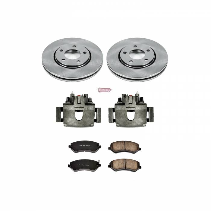 Power Stop - Autospecialty By Power Stop 1-Click OE Replacement Brake Kit w/Calipers | Power Stop (KCOE5244B)